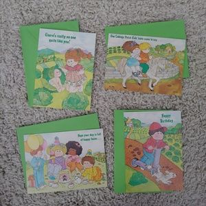 Cabbage Patch Kids birthday cards